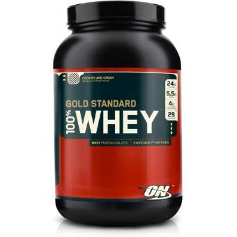 Optimum Nutrition 100% Whey protein Gold standard 912 гр