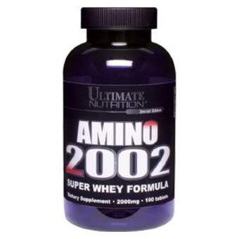 Ultimate Nutrition Amino 2002 100 таб / 100 tab