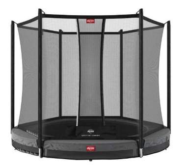 Батут Berg Favorit InGround 200 Grey с сеткой Safety Net Comfort