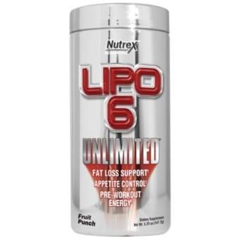 Nutrex Lipo 6 Unlimited Powder 150 гр / 150 g