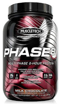 Muscletech Phase8 Multi Phase 908 гр / 2lb