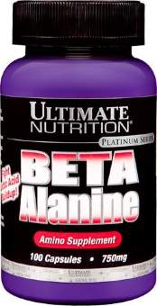 Ultimate Nutrition Beta Alanine 750мг 100 капс