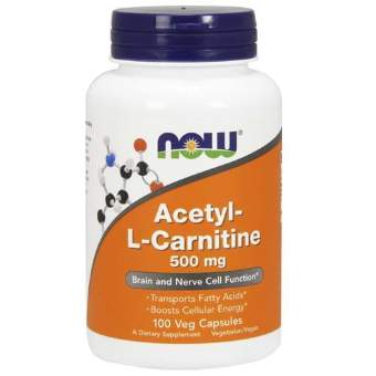 Now sports Acetyl L-Carnitine 500 mg 100 капс