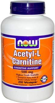 Now sports Acetyl L-Carnitine 500 mg 200 капс