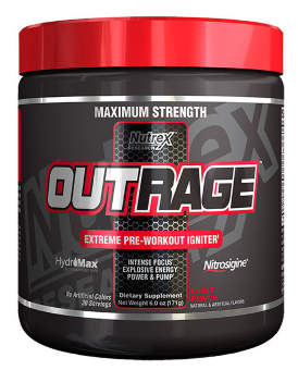 Nutrex Outrage 171 гр / 30 порций