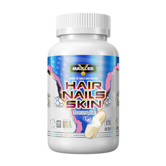 Maxler Hair, Nails, Skin Formula 120 таб / 120 tab