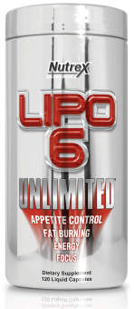 Nutrex Lipo 6 Unlimited 120 капс. / 120 caps