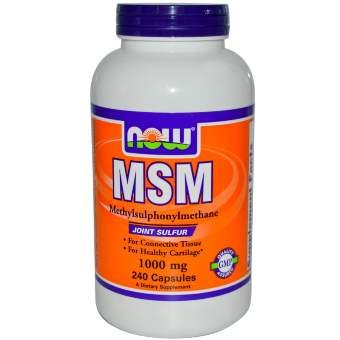 Now sports MSM 1000 mg 120 капс