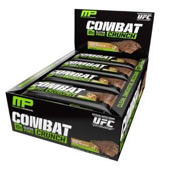 Musclepharm Combat Crunch Bar 12 шт по 63гр