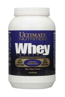 Ultimate nutrition Whey Supreme 907 гр