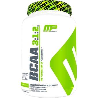 MusclePharm BCAA 3:1:2 240 капс / 240 caps Срок 04.18