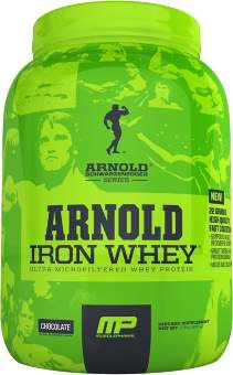 Musclepharm Iron Whey Arnold Series 908 гр / 2lb
